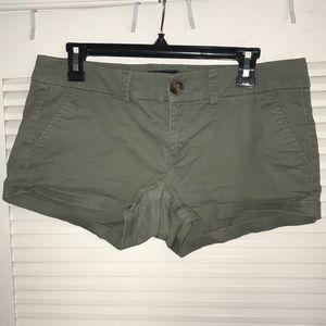 Army Green Khaki Shorts